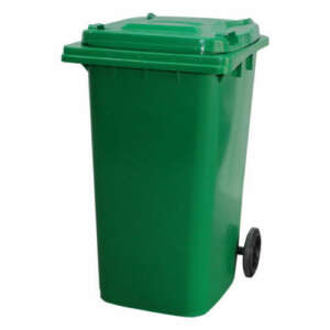 Wheelie Bin 120 Litre | Green colour