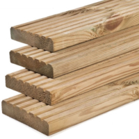Treated Timber Decking Boards 6″ 145mm x 35mm | 3.6m (12ft)