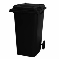 Wheelie Bin 240 Litre | Black colour