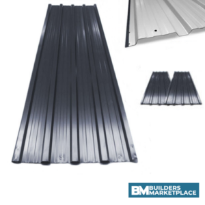 Corrugated Metal Roofing Sheet | 1290mm x 840mm x 0.25mm (Box Profile)